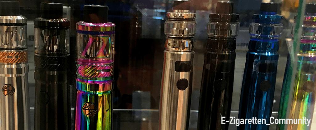 E-Zigaretten gibt es in allen erdenklichen Formen & Farben